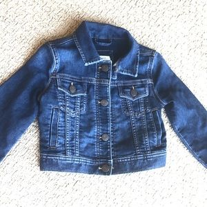 Gap Kids Classic Dark Wash Jean Jacket💕Kids XS!🤩